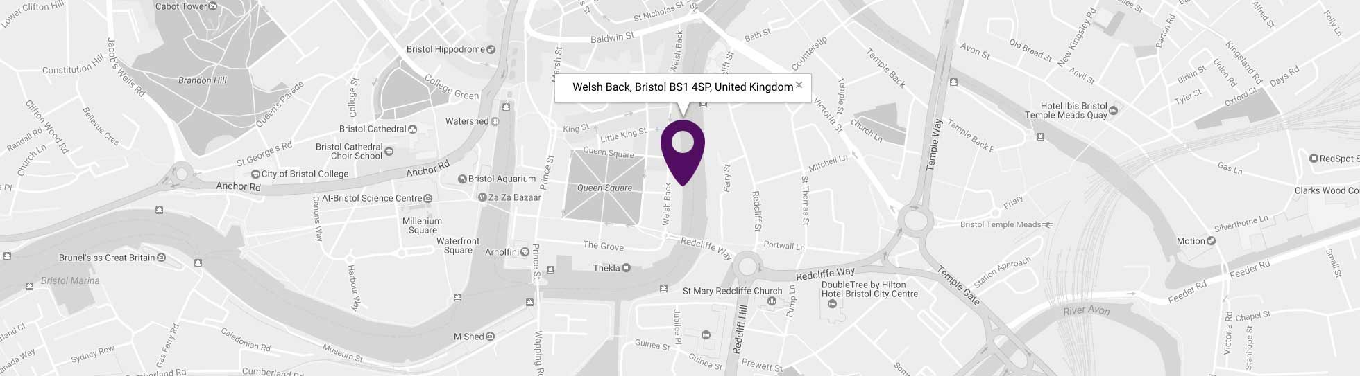 Purplefish Agency, Welshback, Bristol, BS1 4SP