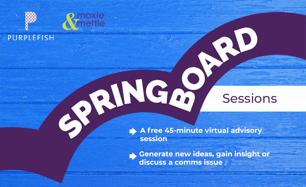 Springboard communications advice sessions logo